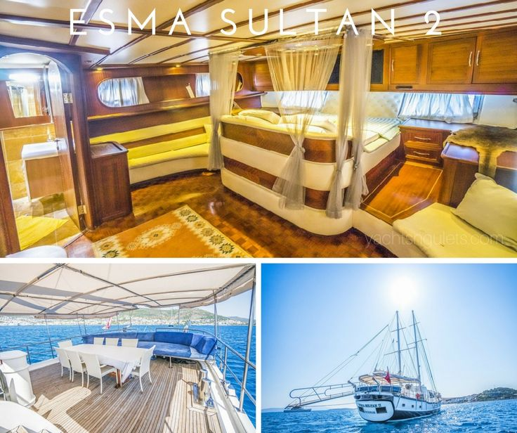 #unique #luxury in her own class. ESMA SULTAN 2 #guletcharter Sleeps 8. Available in #turkey and #greece - see more: