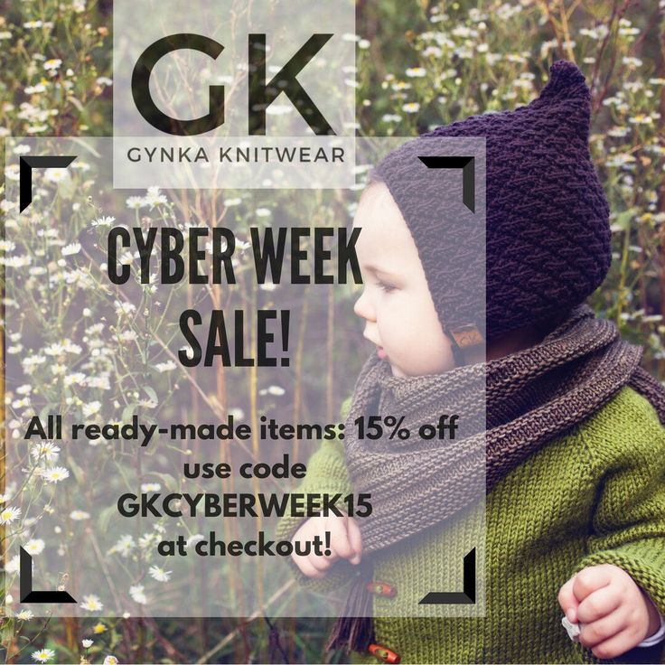 CYBER WEEK SALE! 15% discount on all ready-made items between november 20 - december 1! Use code GKCYBERWEEK15 at checkout!
