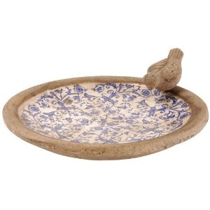 Esschert Design USA Ceramic Birdbath Price:$24.32