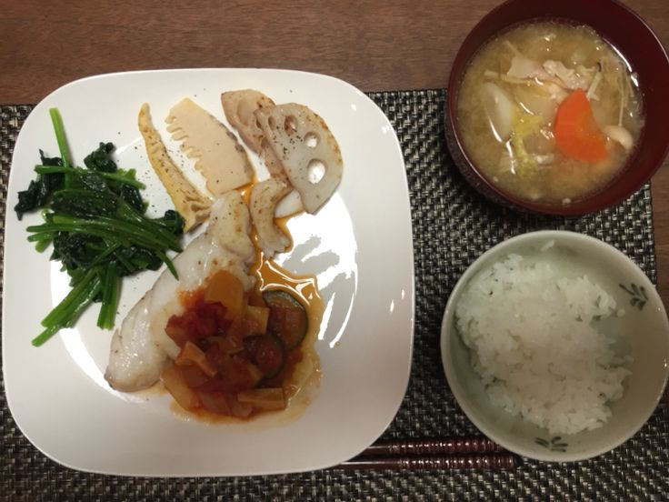 Today's fish dinner.