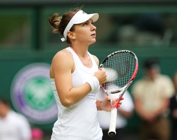 Simona Halep Wimbledon 2014
