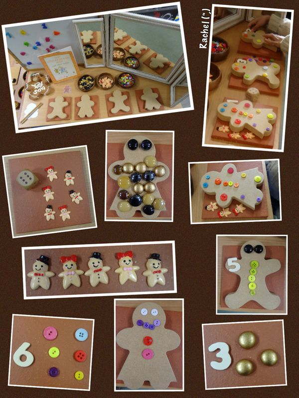 "Gingerbread Maths Opportunities from Rachel ("",)"