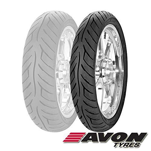 Avon Tyres Roadrider AM26 Tire – Front – 90/90V-21 , Position: Front, Tire Type: Street, Tire Construction: Bias, Tire Application: Sport, Tire Size: 90/90-21, Rim Size: 21, Load Rating: 54, Speed Rating: V 2268113