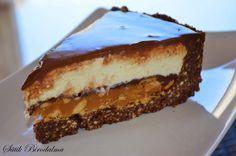 SÜTIK BIRODALMA: Karamellás-túrós-csokis keksztorta / Caramel-cottage cheese-chocolate biscuit cake