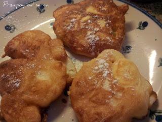 Jabłka smażone w cieście /Apple pancakes