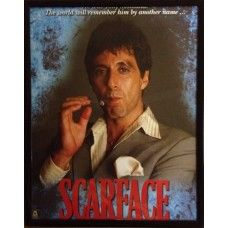 "CLEARANCE Scarface Framed Picture 8"" x 10"" CLEARANCE Scarface Framed Picture 8"" x 10"" - can be hung"