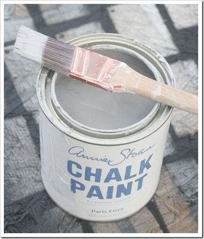 Annie Sloan - Paris grey. To paint cot and bedroom furniture