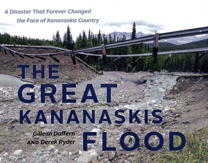 An account of the Kananaskis flood showing the event itself, the aftermath, the assessment of damage, and the rebuilding phase. Includes photographs taken before and after the landscape changed.