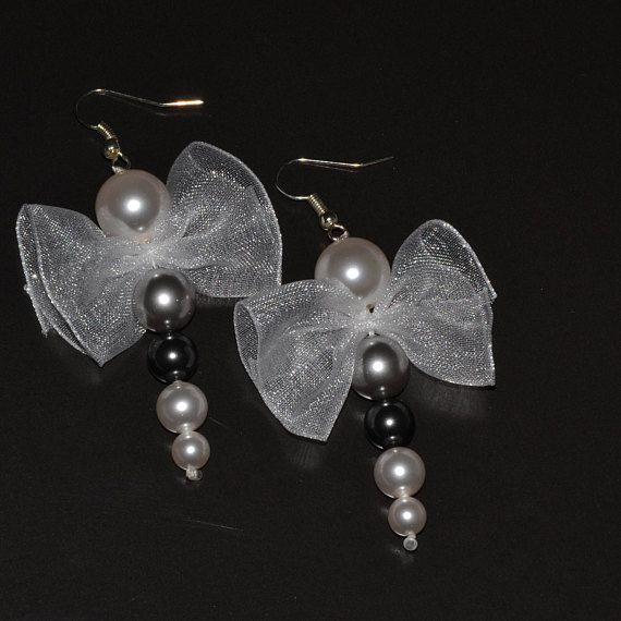 Swarovski drop earrings silver plated hoops
