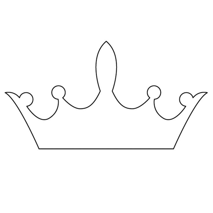 Free Princess Crown Template - ClipArt Best