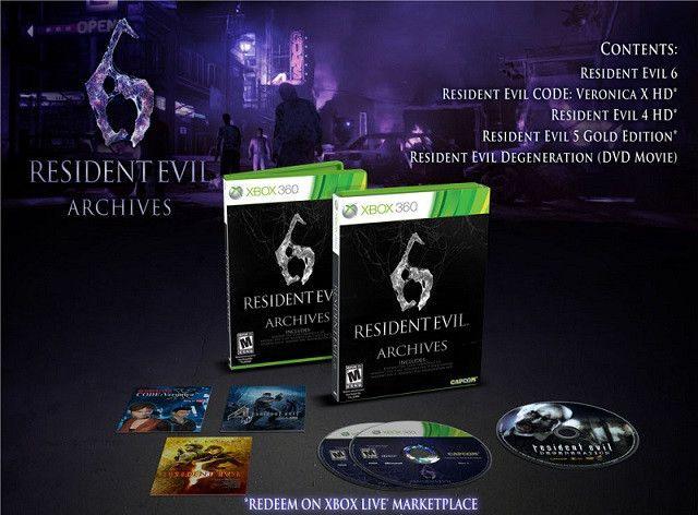 Resident Evil 6 Archives (Xbox360)
