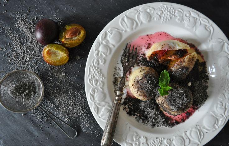 Švestkové knedlíky (z tvarohu a brambor)