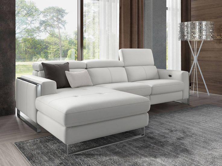 Details Hchster Komfort Durch Elektrisch Verstellbare Sitzposition An Einem Sitz Kopflehnen In Stufen Verstellbar Hochwertiger Rahmenfuss