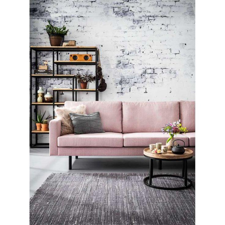Bank Collin 4-zits - roze | Leen Bakker