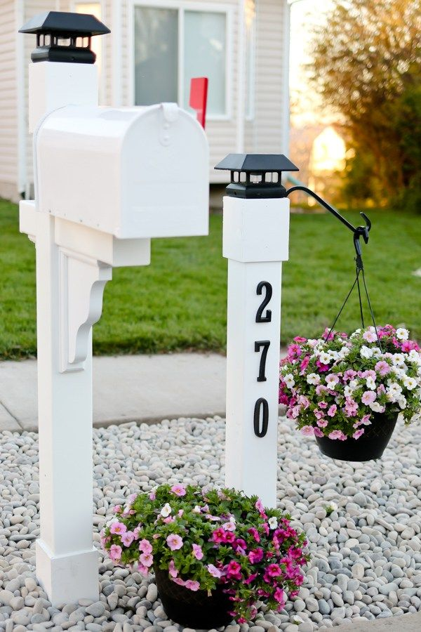 Best 25 mailbox ideas ideas on pinterest mailbox landscaping mailbox and mailbox without post Home selling four diy tricks to maximize the curb appeal
