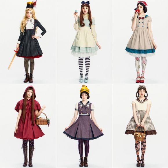 「白雪姫」「赤ずきんちゃん」…フェリシモの名作童話ドレスが人気に応えて復刻! 新作「くるみ割り人形とねずみの王様」もマニッシュで可愛いのです♪