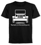 Custom Jeep Wranger T-Shirt  $20.00 USD    Cool large Jeep that you can have on the front or back of your black cotton T shirt.    Your Geocaching name or whatever you want to put right on the Jeep will make this a one of a kind shirt!  Put your home coordinates if you like.....