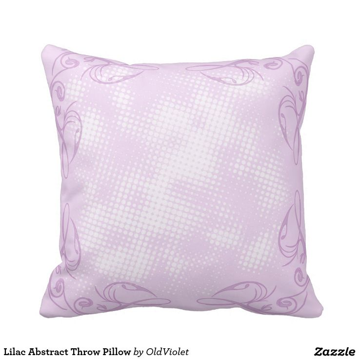 Decorative Pillow Lilac : Lilac Abstract Throw Pillow Abstract, Lilacs and Throw pillows