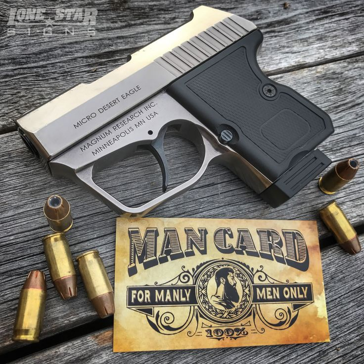 #ManCard Monday!  What do you carry?  Available online👇👇 💯www.LStarSigns.com💯 ------------------------------------------ #LoneStarSigns #LoneStarArmy #LoneStar #SignCompany #StickerStore #MadeInUSA #Stickers #Decal #sticker #decals #Texas  #2a #2ndAmendment #MolonLabe #mancards #mancardmonday #businesscard #businesscards #deserteagle #deserteaglemicro #microdeserteagle #gun #guns #edc #concealcarry #magnumresearch #nogirlymen #DontGetItRevoked