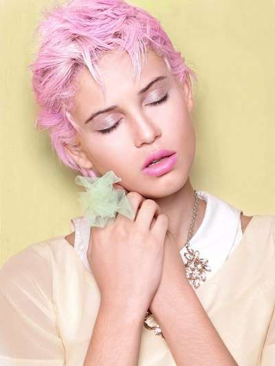 Serene Sweet Tooth Editorials - The Sugar High Design Scene Exclusive Highlights Pastels (GALLERY)