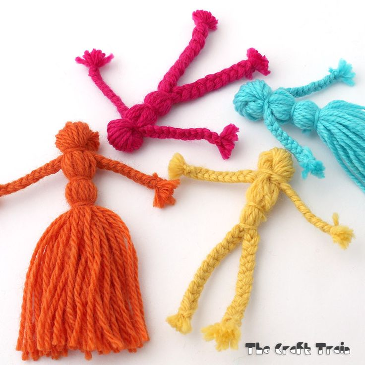 You may have made yarn dolls before, or remember having them made for you as a child. It's something that I've pulled out of my memory vault of crafts I've made as a kid, but&nbsp…