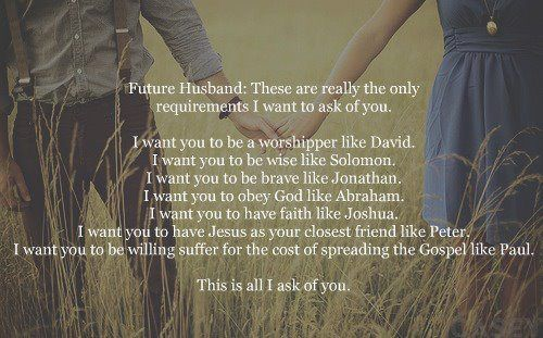 "Girl to Girl Talk: ""I Will Wait for You"" Spoken Word & Future Husband Qualities"