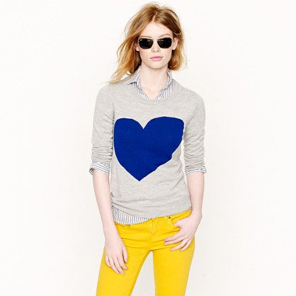 heart + stripes + pop