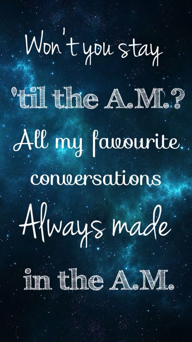 A.M. - One Direction - Made In The A.M.