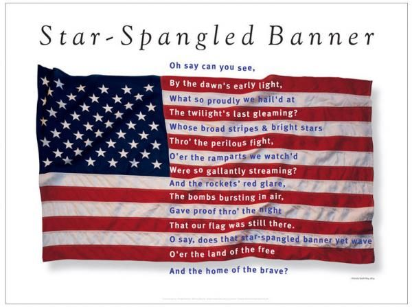 Google Image Result for http://cdn4.blogs.babble.com/famecrawler/files/2011/02/star-spangled-banner-poster-george-delany.jpg: American Pride, Patriotic, Stars, Red White, Star Spangled Banner, Banners