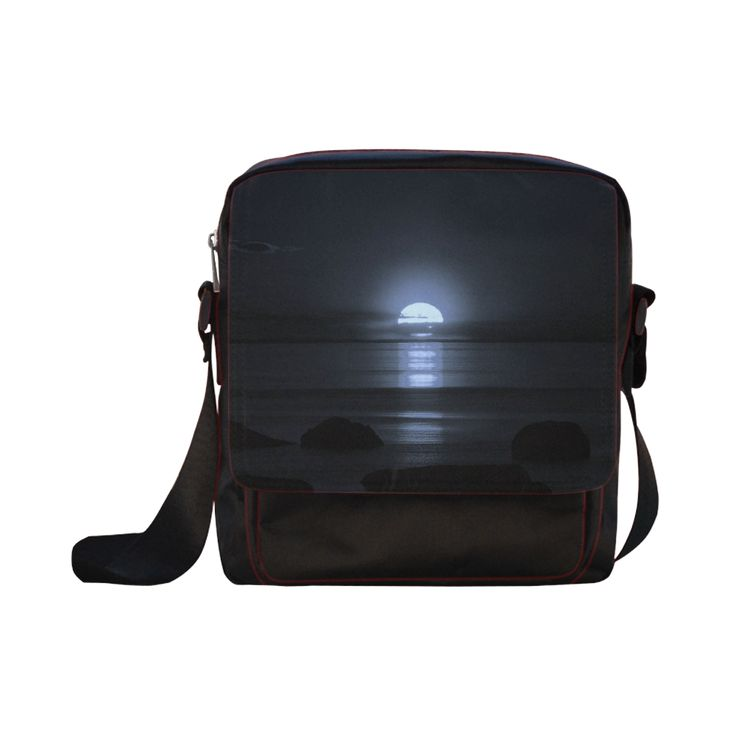 Moony Sunset Crossbody Nylon Bags (Model 1633)