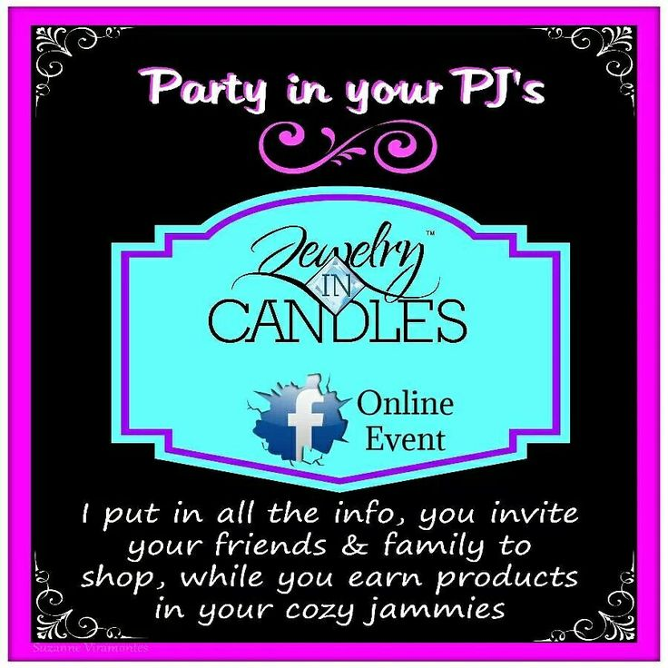 Do you have a facebook? Interested in having a online jewelry in candles party where you can earn 10% of all your party sales to use towards free product? Contact me today! If you dont have a facebook, I can still setup a party link specifically for you, where you can invite your family and friends to order from. www.jewelryincandles.com/store/ashleycassidy