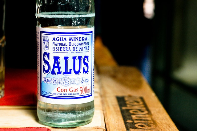 Uruguay: agua salus - the best mineral water