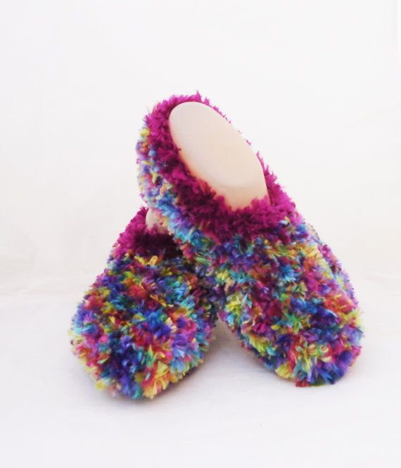 Women Slippers Multicolour Slippers Warm and Soft by evefashion
