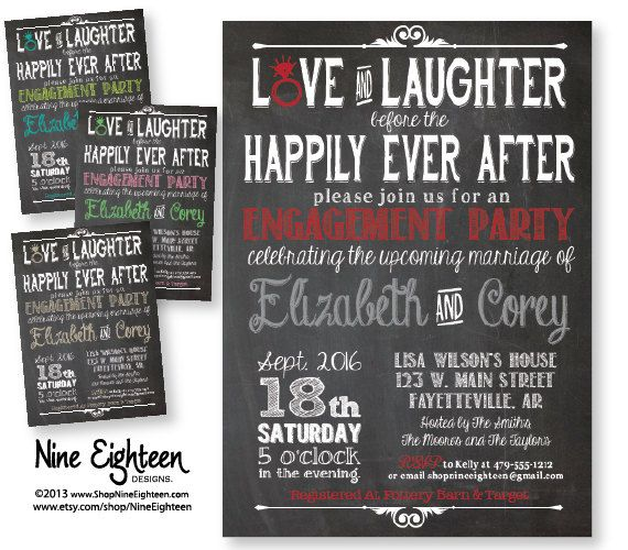 After Party Wedding Invitations: 17 Best Images About Wedding