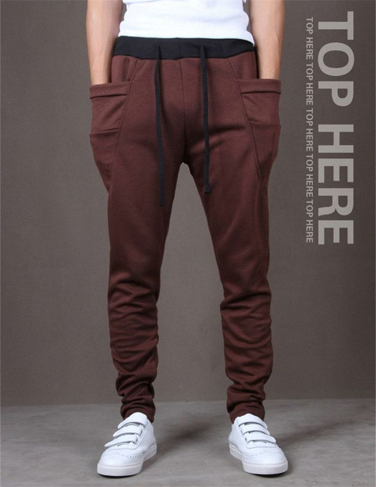 Men Casual Pants Cool Design Moletom Big Pocket Top Here Brand Clothing  Army Trousers Hip Hop