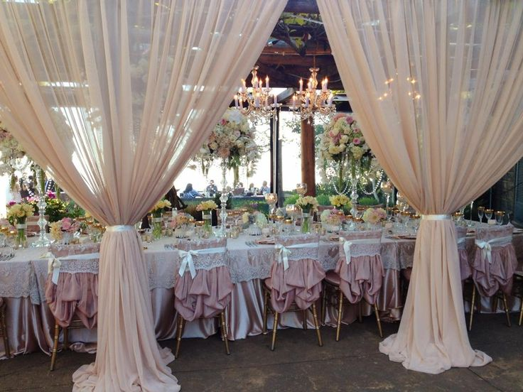Wedding Reception Drapery Good Banquet Style Wedding