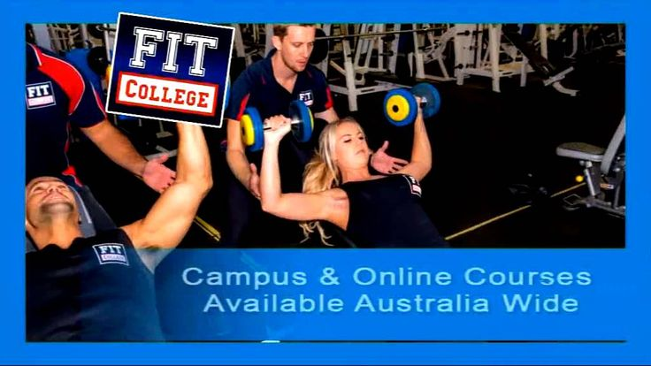 Personal training courses - FIT College
