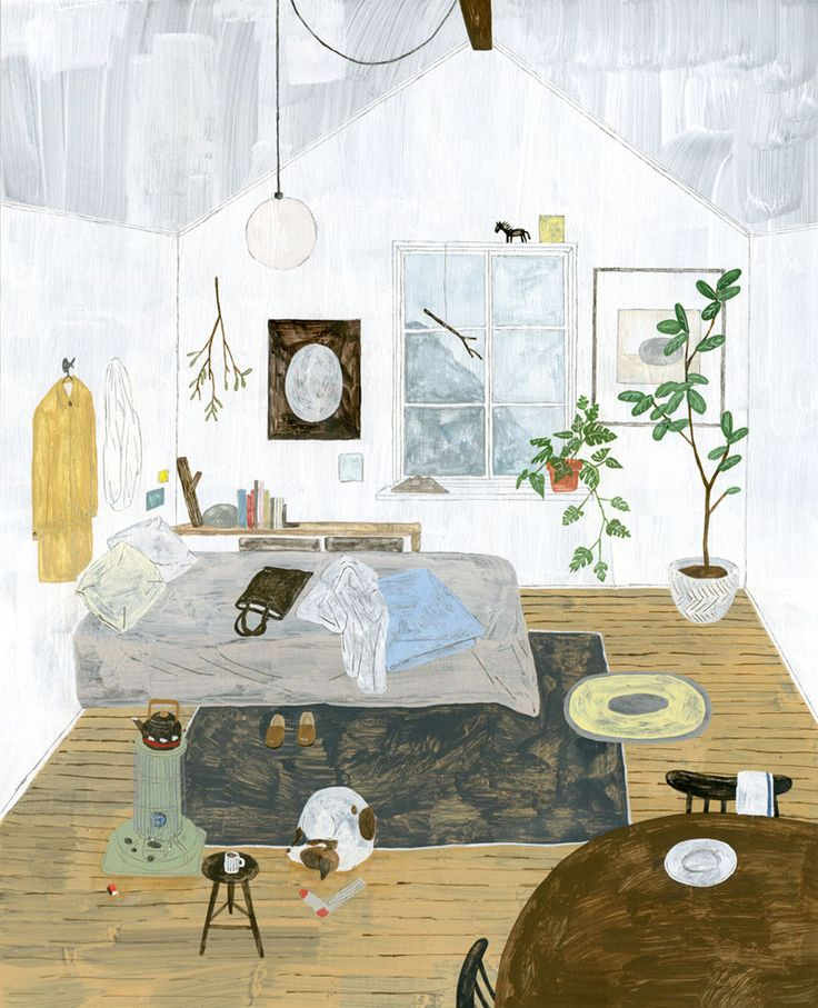 Fumi Koike's Illustrations. - Art is a Way | Art is a Way