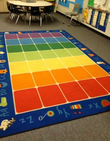 Fun With Phonics Classroom Rug