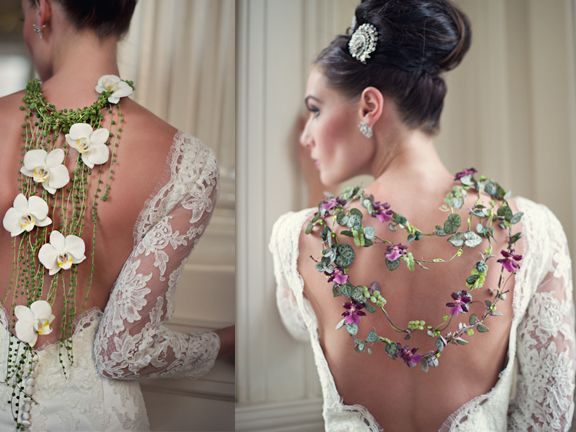 The necklaces, or is it called a backlace? a proper name needs to be coined, I do believe...