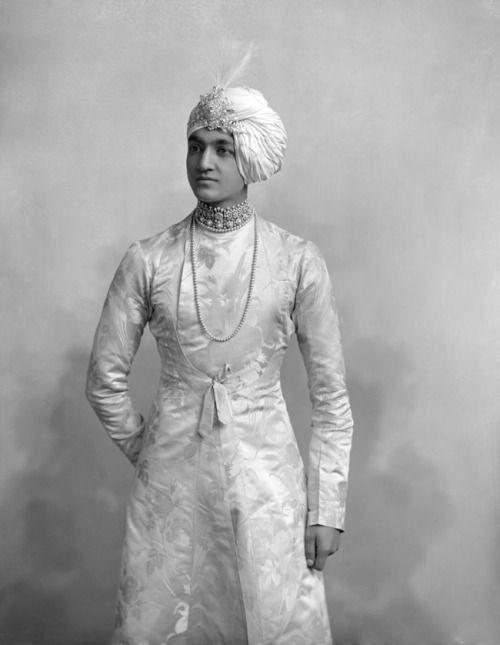 Maharajah Jitendra Narayan of Cooch Behar. ca. 1882.