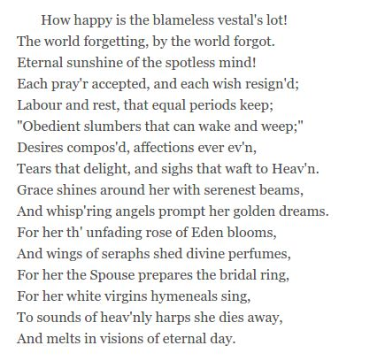 alexander pope eloisa to abelard Eloisa to abelard pope, alexander (1688 - 1744) original text: alexander pope, works love resulted in eloisa's conceiving, whereupon abelard removed her to.