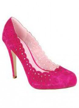 Pink shoes. I have nothing really to wear them with but they're always stunning to look at.