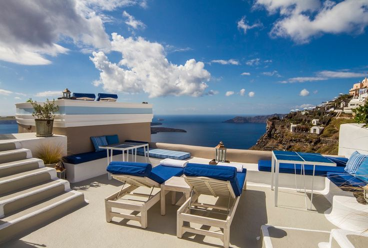 The Iconic Santorini, a Kiwi Collection property. #StylishEscapes