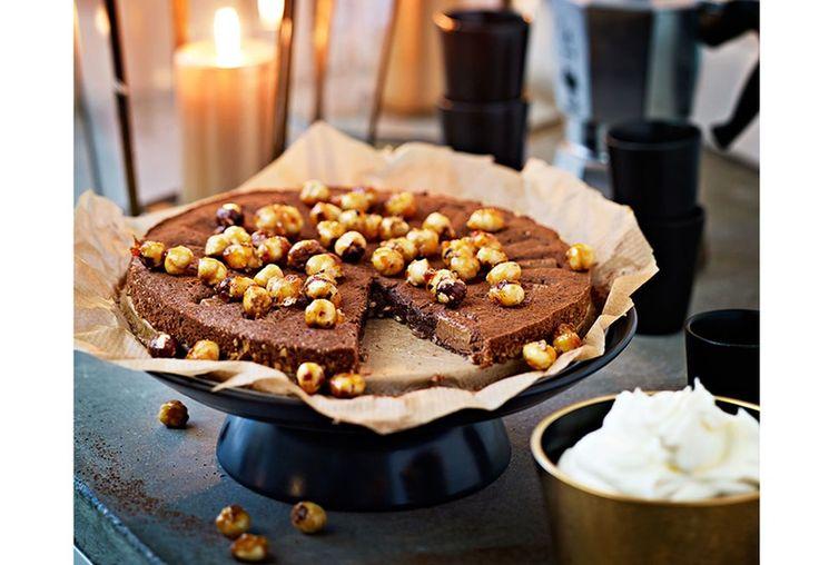 Denne sjokoladekaken kan alle lage - den er superenkel og veldig rask.