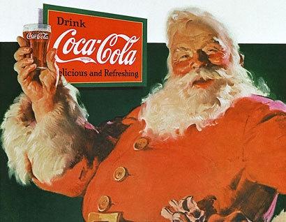 Coca-Cola n'a pas inventé le Père Noël