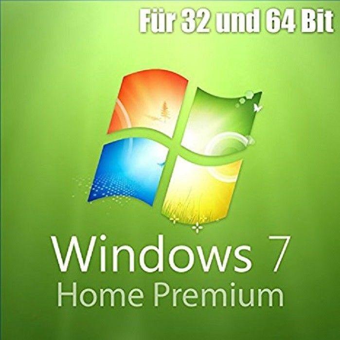 Windows 7 Home Premium 32/64 Bit Version . 1PC Produkt Key (OEM) Aktivierung