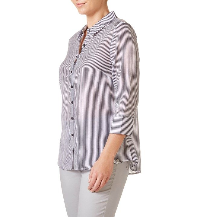 W.Lane Stripe Shirt