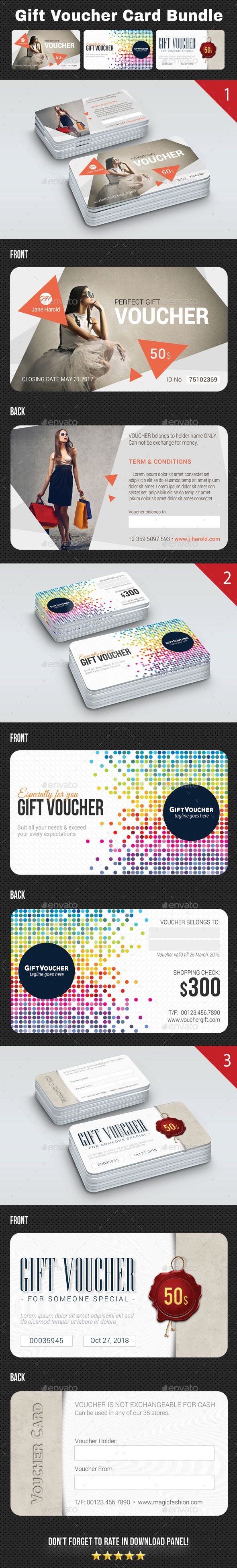 Best 25 Gift voucher design ideas on Pinterest