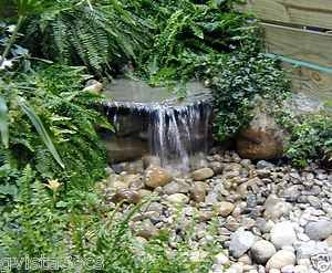 diy+water+features | ... DIY Upgraded Pondless 700 Waterfall Kit Water Feature | eBay